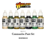 Commandos Paint Set