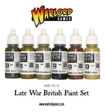 Late War British Paint Set