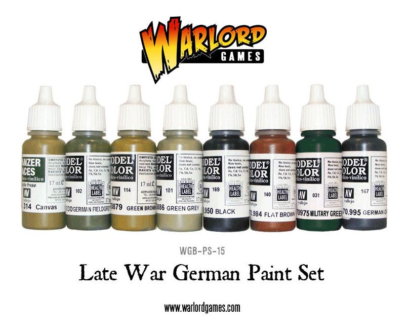 Late War German Army Paint Set