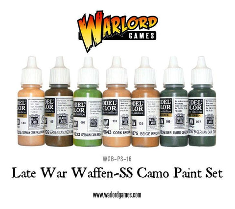 Late war Waffen-SS Camo Paint Set