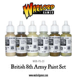 British 8th Army paint set