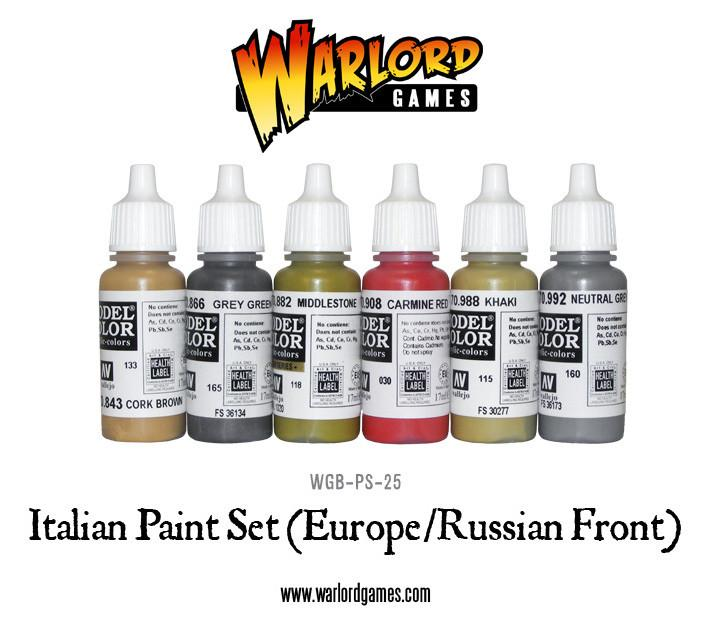 Italian Army Paint Set (Europe/Russian Front)