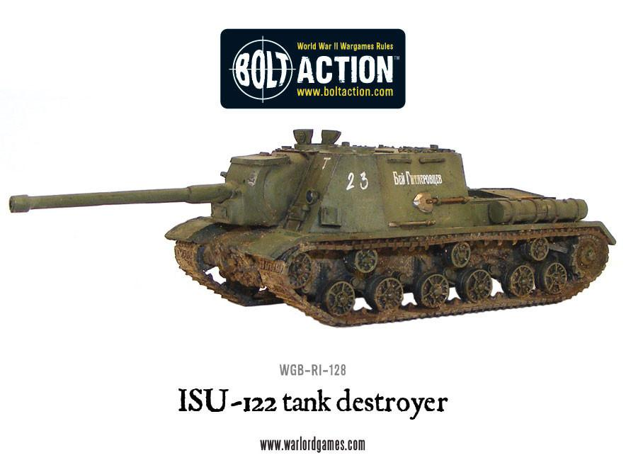 ISU-122 tank destroyer