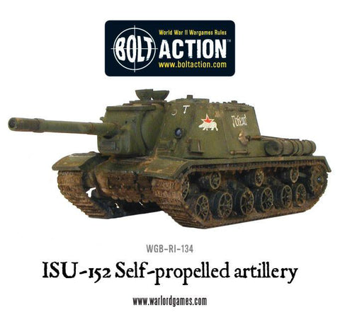 ISU-152 tank destroyer