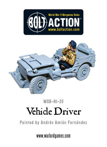 Soviet Vehicle Driver