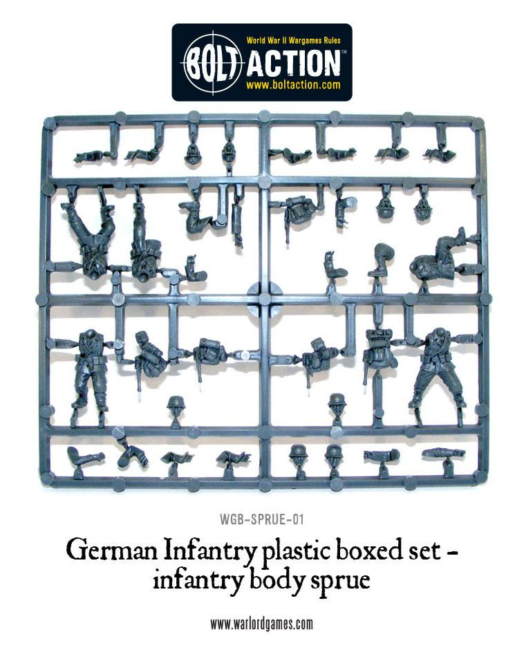 German Infantry Sprue
