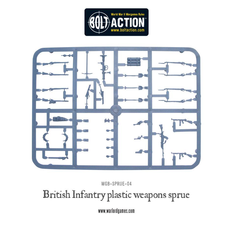British Weapon Sprue