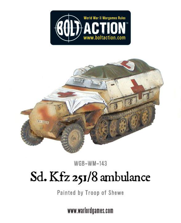 Sd.Kfz 251/8 Ambulance
