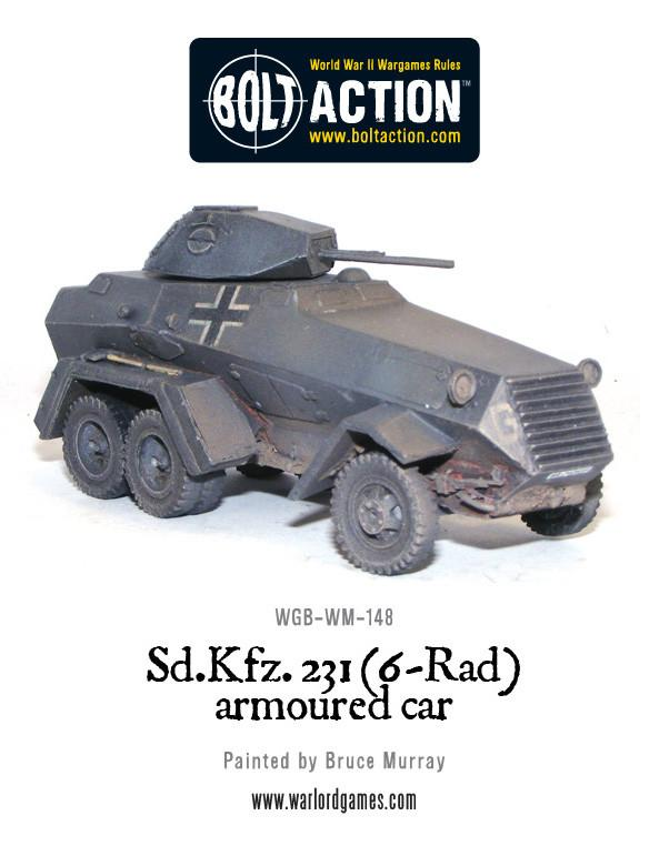 Sd.Kfz 231 6-rad armoured car
