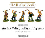 Ancient Celts: Javelinmen Regiment