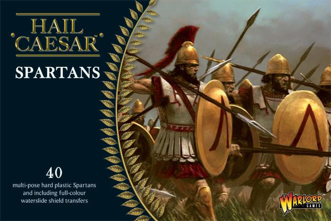 Spartans: Spartans plastic boxed set