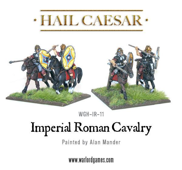 Early Imperial Romans: Auxiliary cavalry with spears Regiment