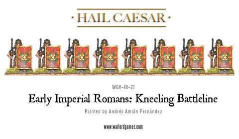Early Imperial Romans: Kneeling Battleline