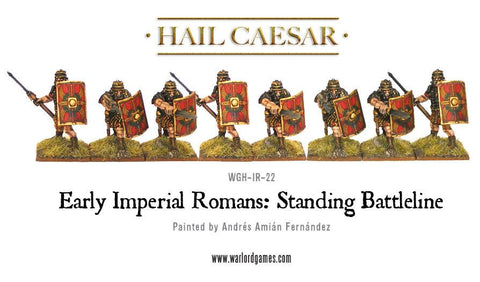Early Imperial Romans: Standing Battleline
