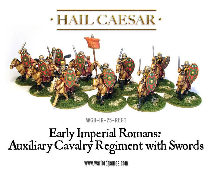 Early Imperial Romans: Auxiliary Regiment Warlord Games Hail Caesar NEW
