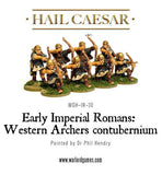 Early Imperial Romans: Western Auxiliary Archers contubernium