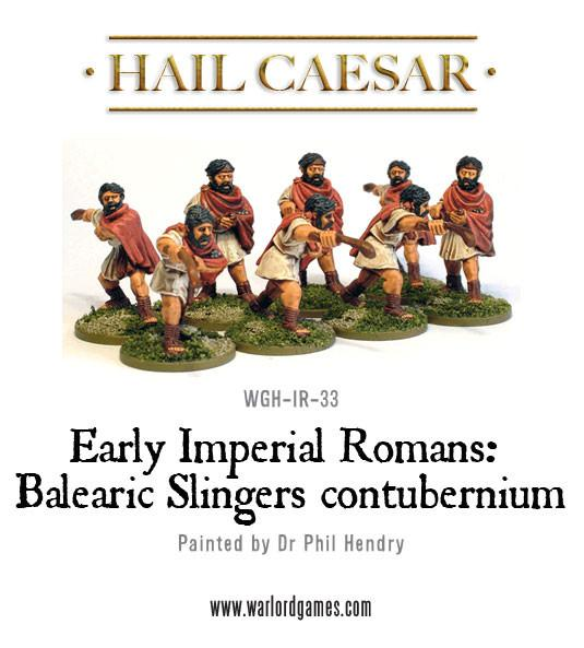 Early Imperial Romans: Balearic Slingers contubernium