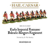 Early Imperial Romans: Balearic Slingers Regiment