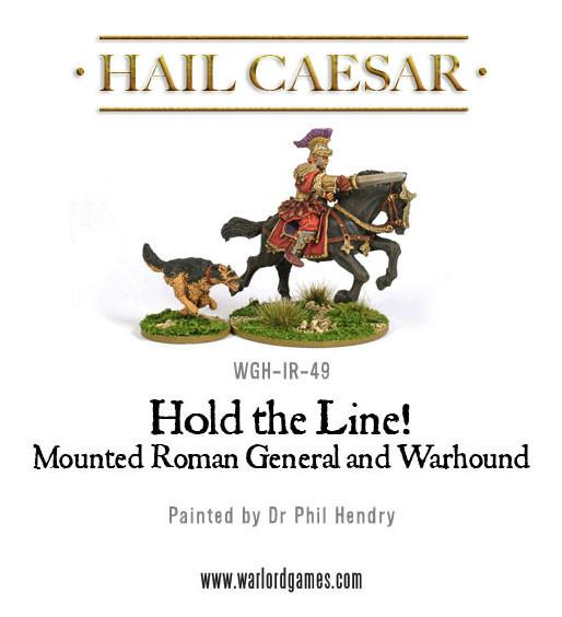 Early Imperial Romans: Mounted Roman General and Warhound