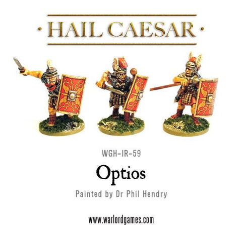 Early Imperial Romans: Optios