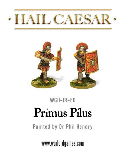 Early Imperial Romans: Primus Pilus