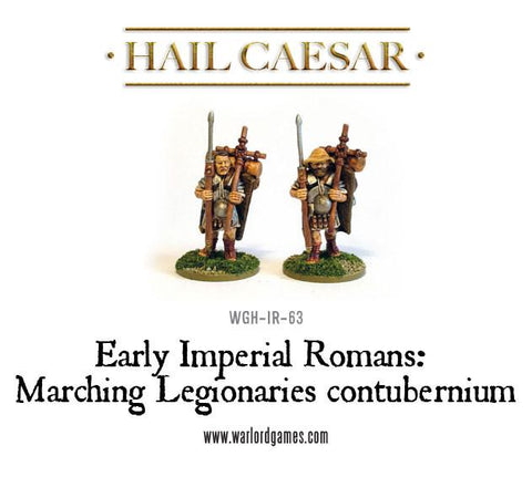 Early Imperial Romans: Marching Legionaries contubernium