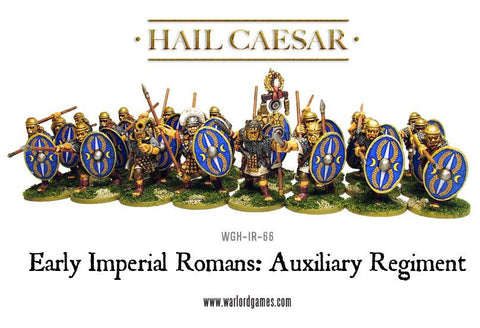 Early Imperial Romans: Auxiliary Regiment