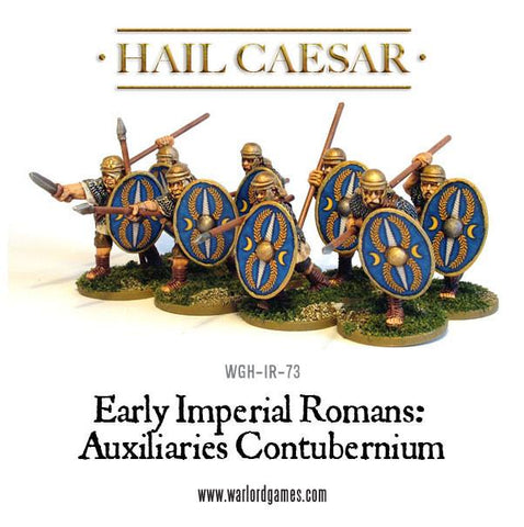 Early Imperial Romans: Auxiliaries Contubernium