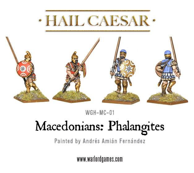 Macedonians: Phalangites plastic set