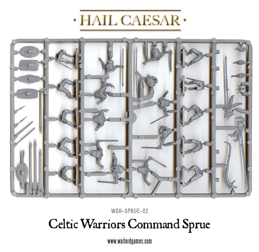 Celtic Warriors Command sprue