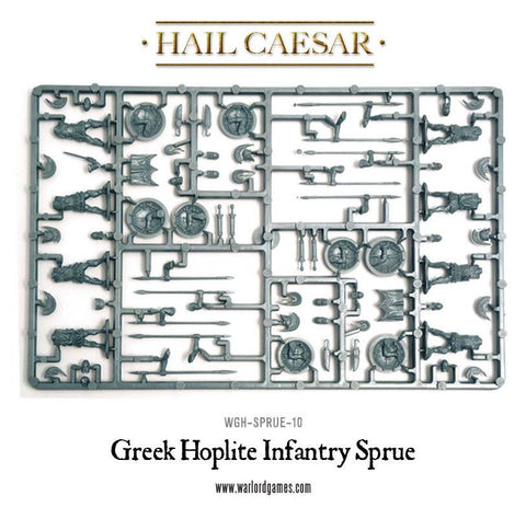 Greek Hoplite Infantry Sprue