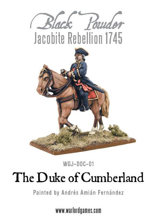 Jacobite Rebellion: Duke of Cumberland 1745