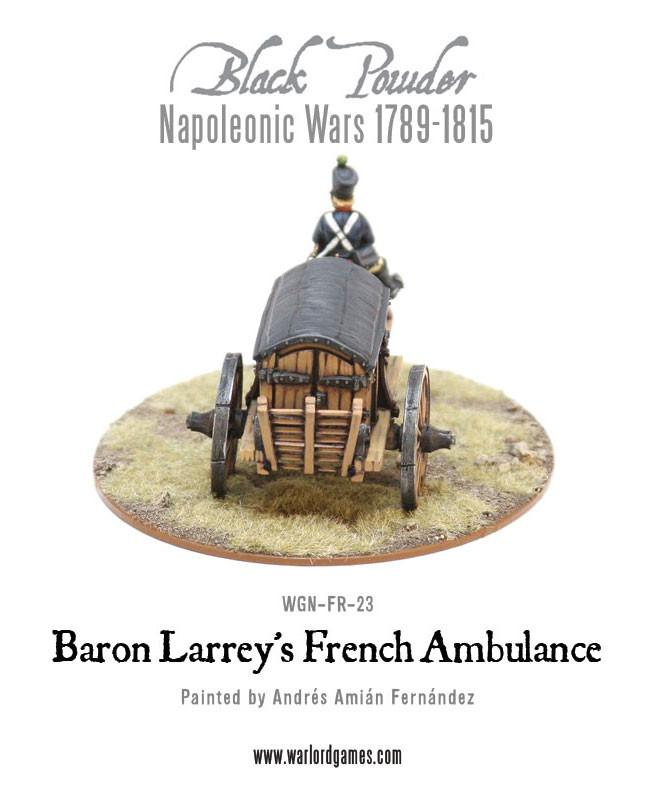 Napoleonic Wars: Baron Larrey's Flying Ambulance