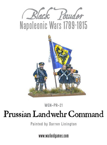 Napoleonic Wars: Prussian Landwehr Command 1789-1815