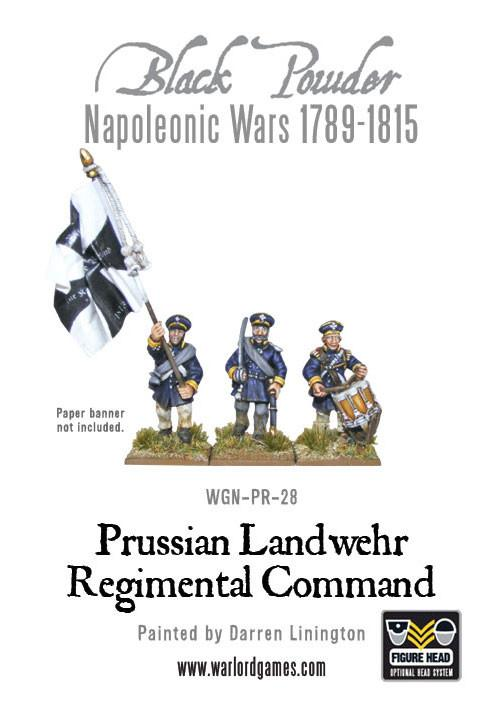 Prussian Landwehr command group