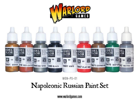Napoleonic Russian Paint Set