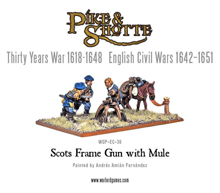 Scots Frame Gun with Mule