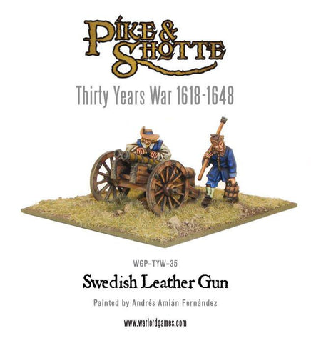 Swedish Leather Gun