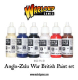 Anglo-Zulu War: British Paint Set
