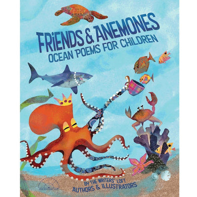 Friends & Anemones Ocean Poems for Children - Book Cover