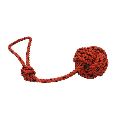 Lobster Rope Dog Toy - Orange