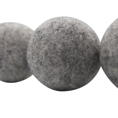 Woolzies - Grey Wool Dryer Balls Set of 3 - Lochtree
