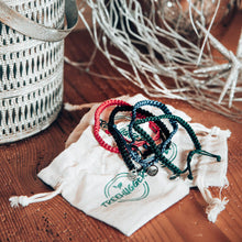 Load image into Gallery viewer, TREEHUGGERS 5 BRAIDED BRACELETS PACK 🌲