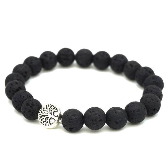 Treehuggers™ Signature Lava Stone: Plant a tree with every bracelet 🌲