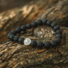 Load image into Gallery viewer, Treehuggers Signature Lava Stone: Plant a tree with every bracelet 🌲
