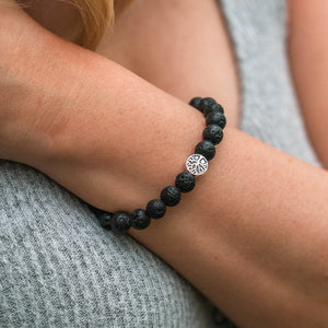 Treehuggers Signature Lava Stone: Plant a tree with every bracelet 🌲