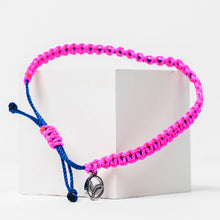 Load image into Gallery viewer, PINK FALL BRAIDED BRACELET 🌲