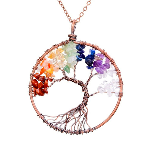 Treehuggers Tree Of Life Necklace: Plant a tree with every necklace 🌲