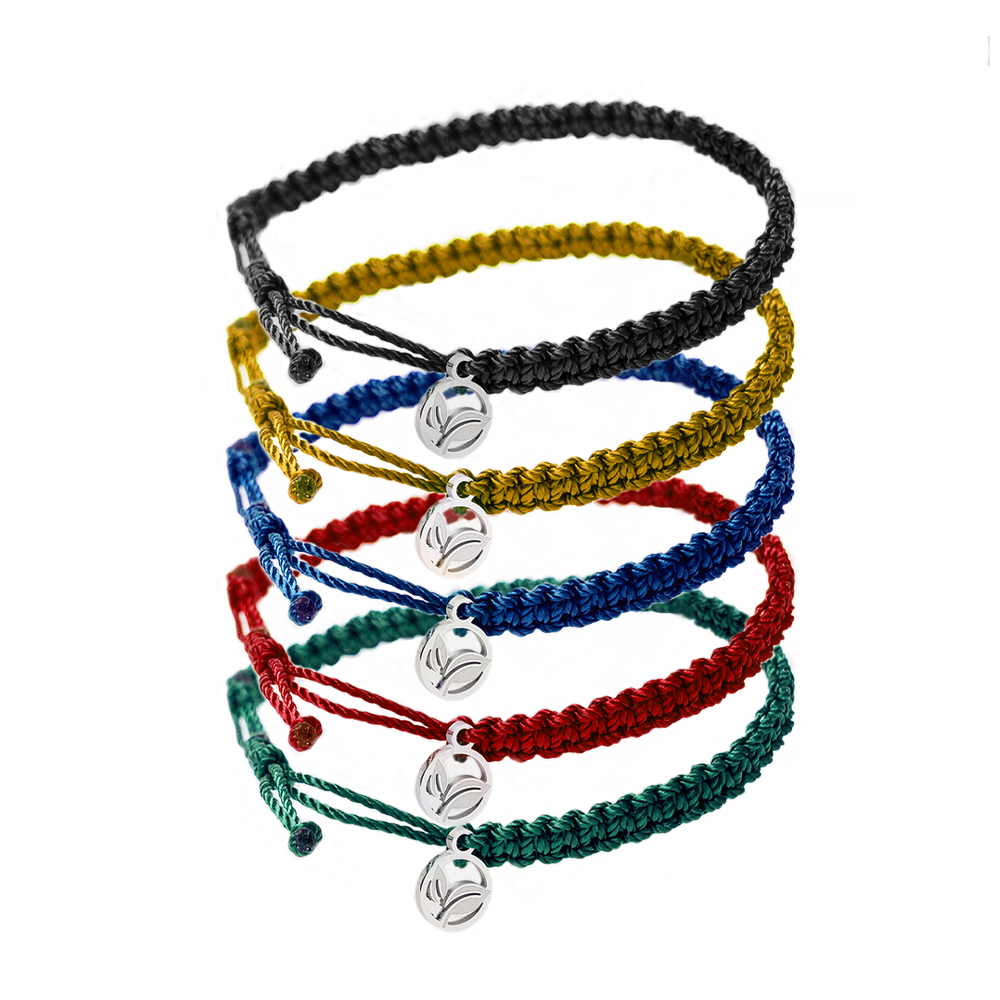 TREEHUGGERS 5 BRAIDED BRACELETS PACK 🌲