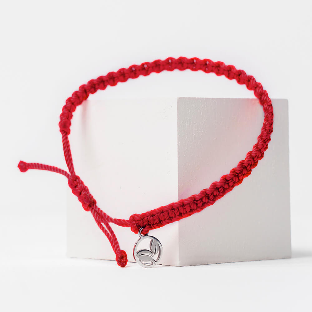 RED FOX BRAIDED BRACELET 🌲
